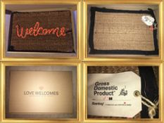 Official Banksy Gross Domestic Product X Love Welcomes Mat