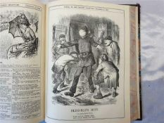 Punch Books Featuring Jack The Ripper 1888 & 1889 Both Original Volumes