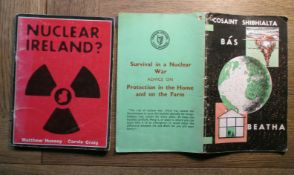 "Two Irish Anti-Nuclear Booklets 1960's & 70's -""Survival In A Nuclear War"""