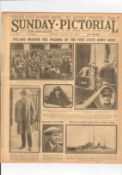 Original Sunday Pictorial Newspaper Aug 27 1922 The Funeral Of Michael Collins