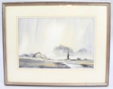 David Bellamy Misty Morning Watercolour