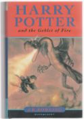 A First Edition. J.K. Rowling – Harry Potter and the Goblet of Fire – Signed First Edition