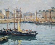 André Beronneau Belle Isle. Signed Oil Painting