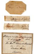 NAVY AUTOGRAPH COLLECTION - CODRINGTON GAMBIER DEWEY