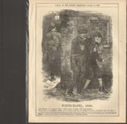 Jack The Ripper Original print Whitechapel 1888