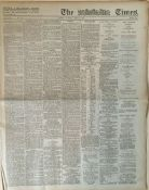 Easter Rising 1916 Original Complate Newspaper 2nd May Images & Reports