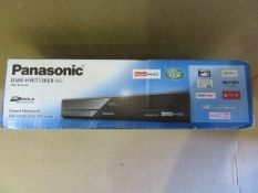 (39) 1 x Grade B - Panasonic DMR-HWT130EB Freeview+ HD Hard Disk Recorder with Twin HD Terrestr...