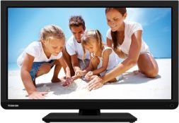 (9) 1 x Grade B - 22 Inch Toshiba 22D1333B Full HD 1080p Digital Freeview LED DVD TV. Perfect