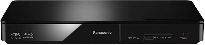 (M7) Panasonic DMP-BDT180EB 3D Smart Blu-Ray Player - Black Experience the high picture quality...