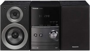 (30) 1 x Grade B - Panasonic SC-PM602EB-K Wireless Traditional Hi-Fi CD Micro System.