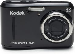 (41) 1 x Grade B - KODAK FZ43 Digital Still Camera - Black (27 mm Lens, 4x Zoom, 16 MP) 2.7-Inc...