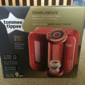 (T29) 1 x GRADE B - Tommee Tippee Perfect Prep Day & Night, RED. Fast and effective – In just...