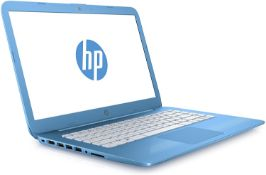 (T25) 1 x GRADE B - HP Stream 11-ax000na 11-inch HD Laptop (Aqua Blue) - (Intel Celeron N3060, ...