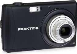 (45) 1 x Grade B - Praktica Luxmedia Z250 Digital Compact Camera - Black (20 MP,5x Optical Zoom...