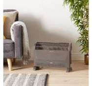 (AP188) 2000W Convector Heater Choose from 3 heat settings – 750W/1250W/2000W – low, mediu...