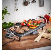 (MY45) Teppanyaki Grill Large grill surface - 43 cm x 22 cm - with non-stick coating is great ...