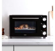 (OM77) 35L Mini Oven 600W power with multiple cooking functions Temperature ranges between 70...