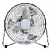 "(LF17) 9"" Inch Chrome 3 Speed Floor Standing Gym Fan Hydroponic Stay cool this year with the..."