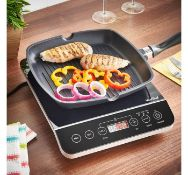 (OM112) Digital Induction Hob Portable and powerful 2000W induction hob - great for small kit...