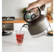 (OM19) 1.5L Dome Kettle Quick boil time can brew a full 1.5L in under 5 minutes Easily remove...