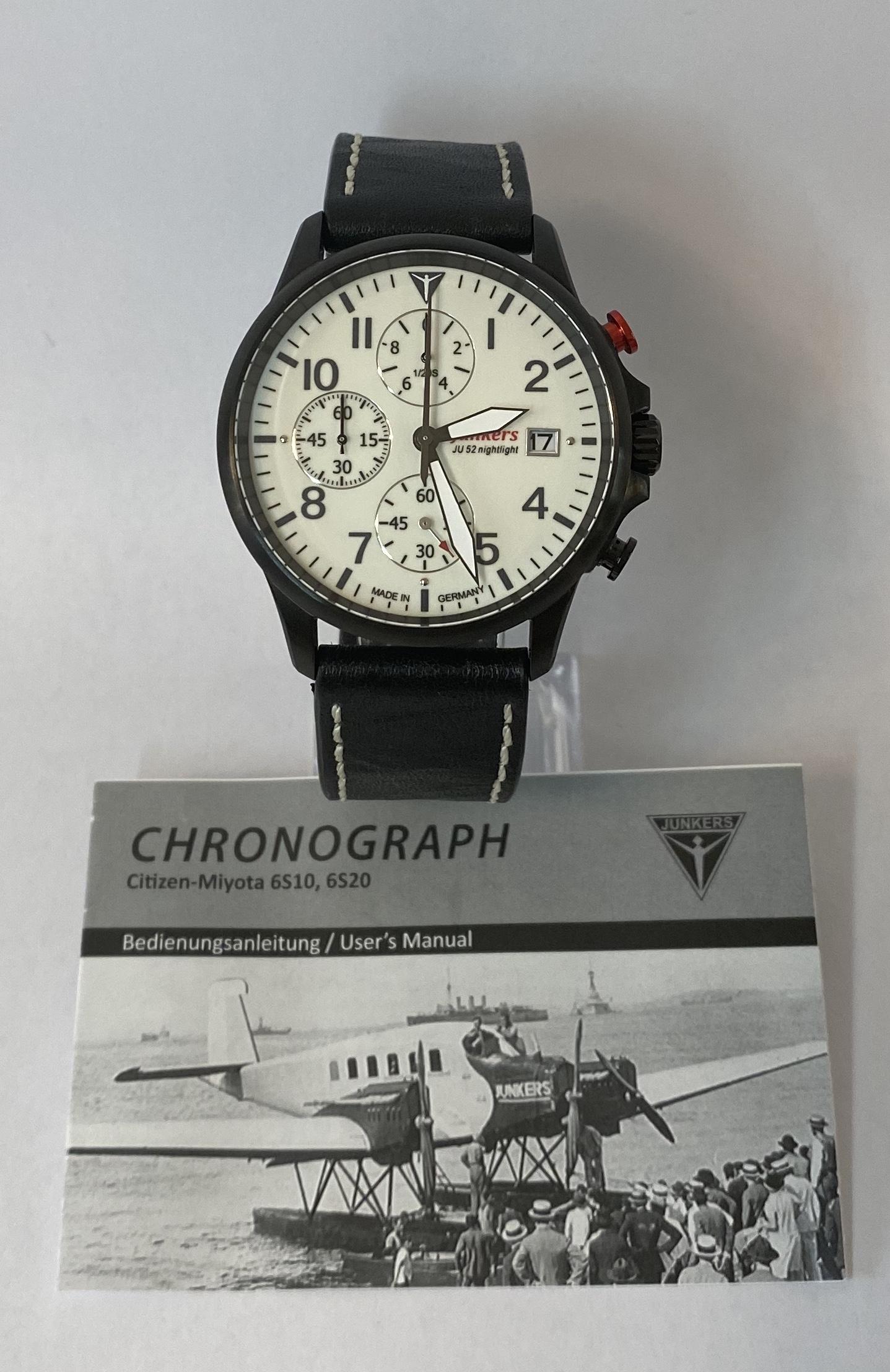 Lot 47 - Junkers JU52 Quartz *12 Month Guarantee*