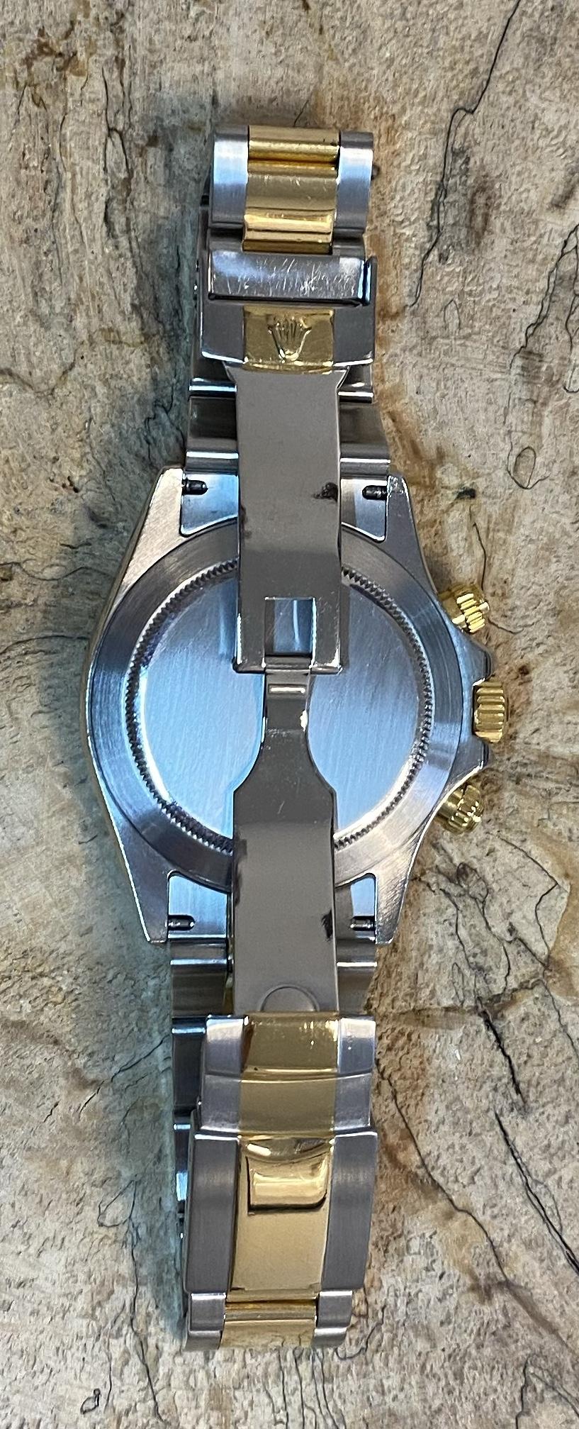 Lot 2 - Rolex Daytona 116523 18ct Gold & Stainless Steel (2003)