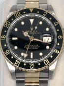 Rolex GMT-Master II 16713 Steel and 18k Gold Oyster Bracelet