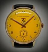 Rare Vintage Girard Perregaux Ferrari ManÕs Watch