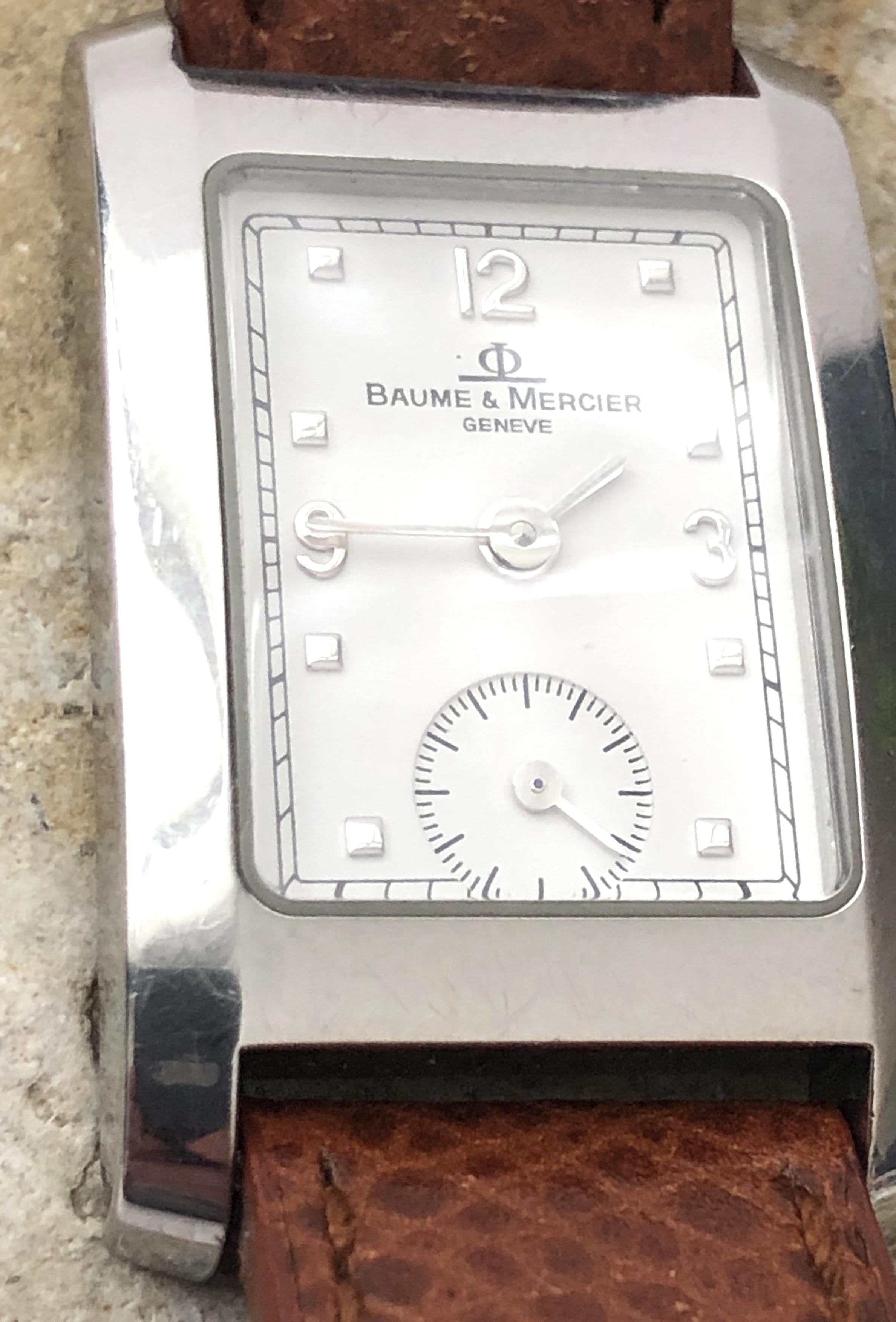 Lot 23 - Beautiful Ladies Baume & Mercier Hampton MV045139
