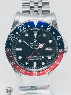 Collection of Luxury Watches | Including a Very Rare 1960 Rolex GMT 1675 'Pepsi' and an Unworn Rolex Datejust 116201