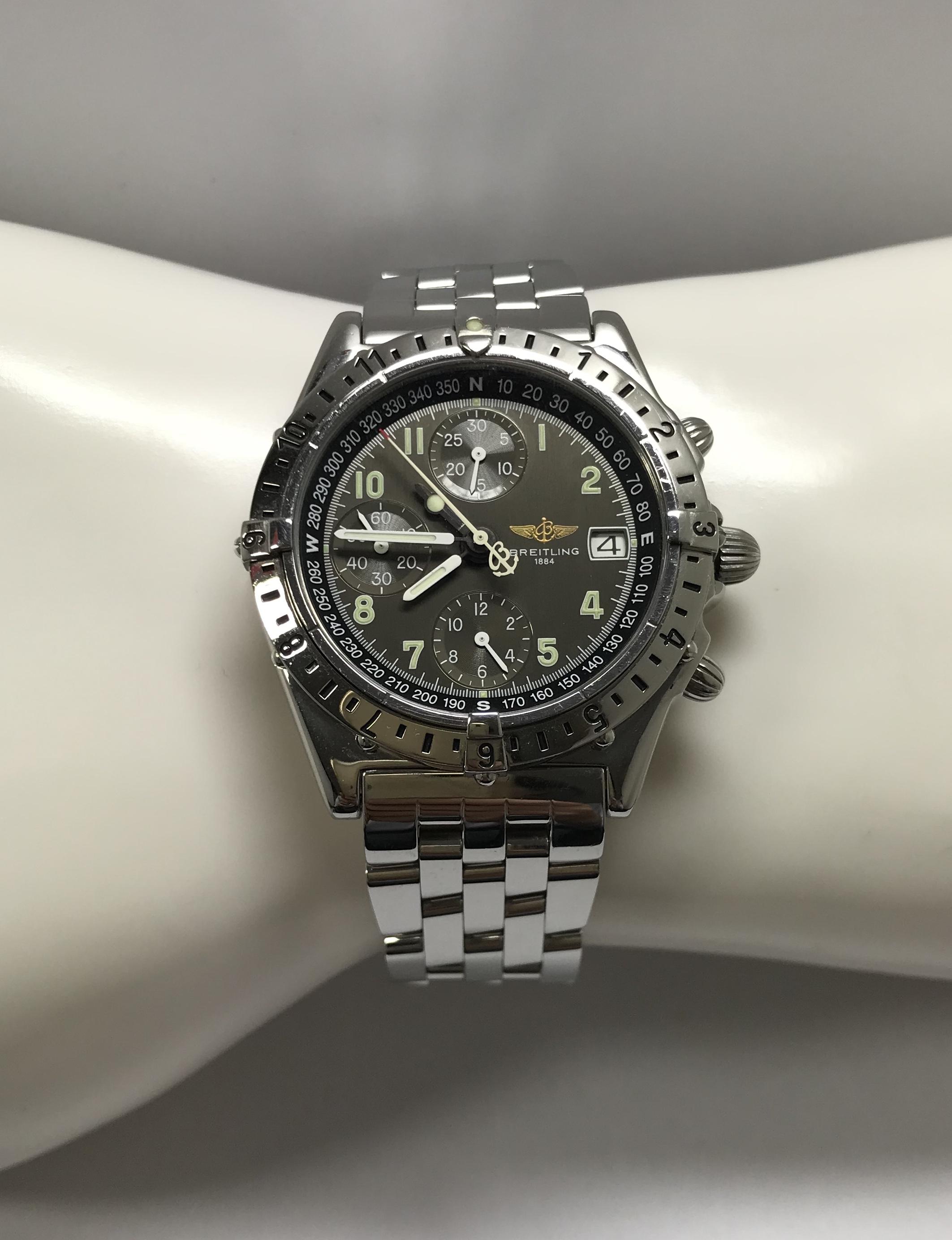 Lot 37 - Gents Breitling Chronomat Longitude A20048 Automatic