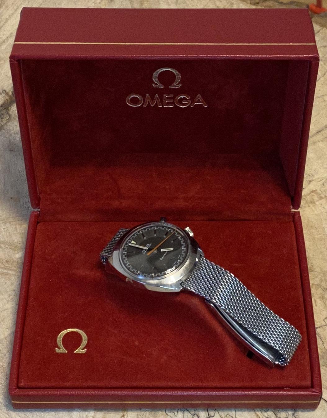 Lot 1 - Omega. Chronostop 145.009 (Manual Wind) *12 month guarantee*