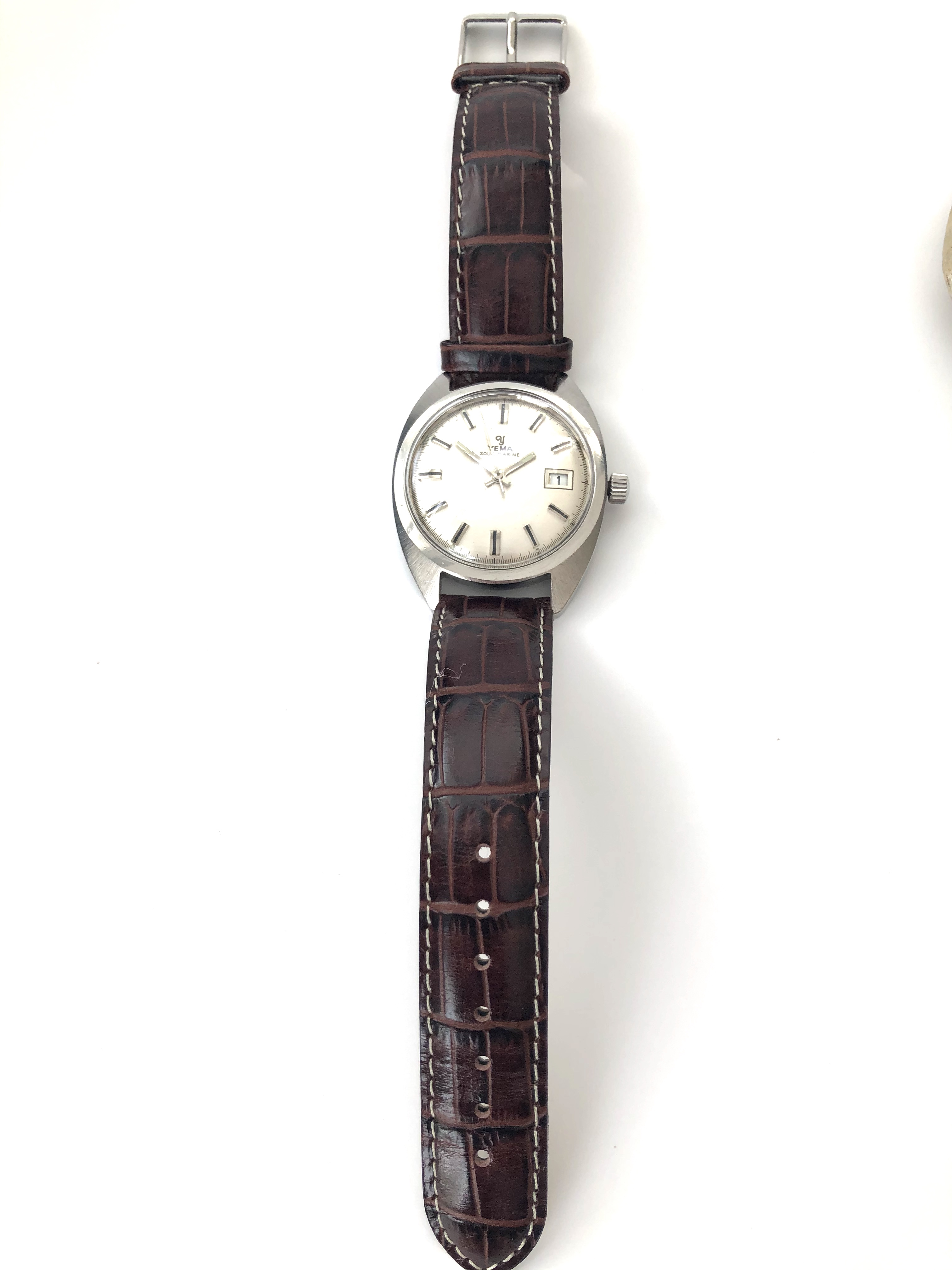 Lot 31 - Beautiful Yema - Sous Marine Watch Circo 1970's in almost mint condition.
