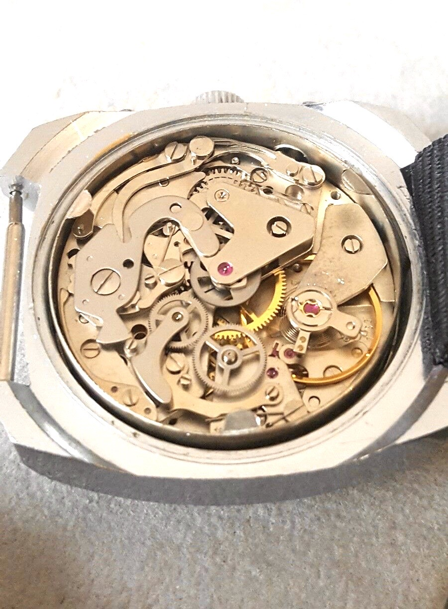 Lot 30 - A Rare find Vintage Yema Panda Dial Chronograph In Amazing Condition