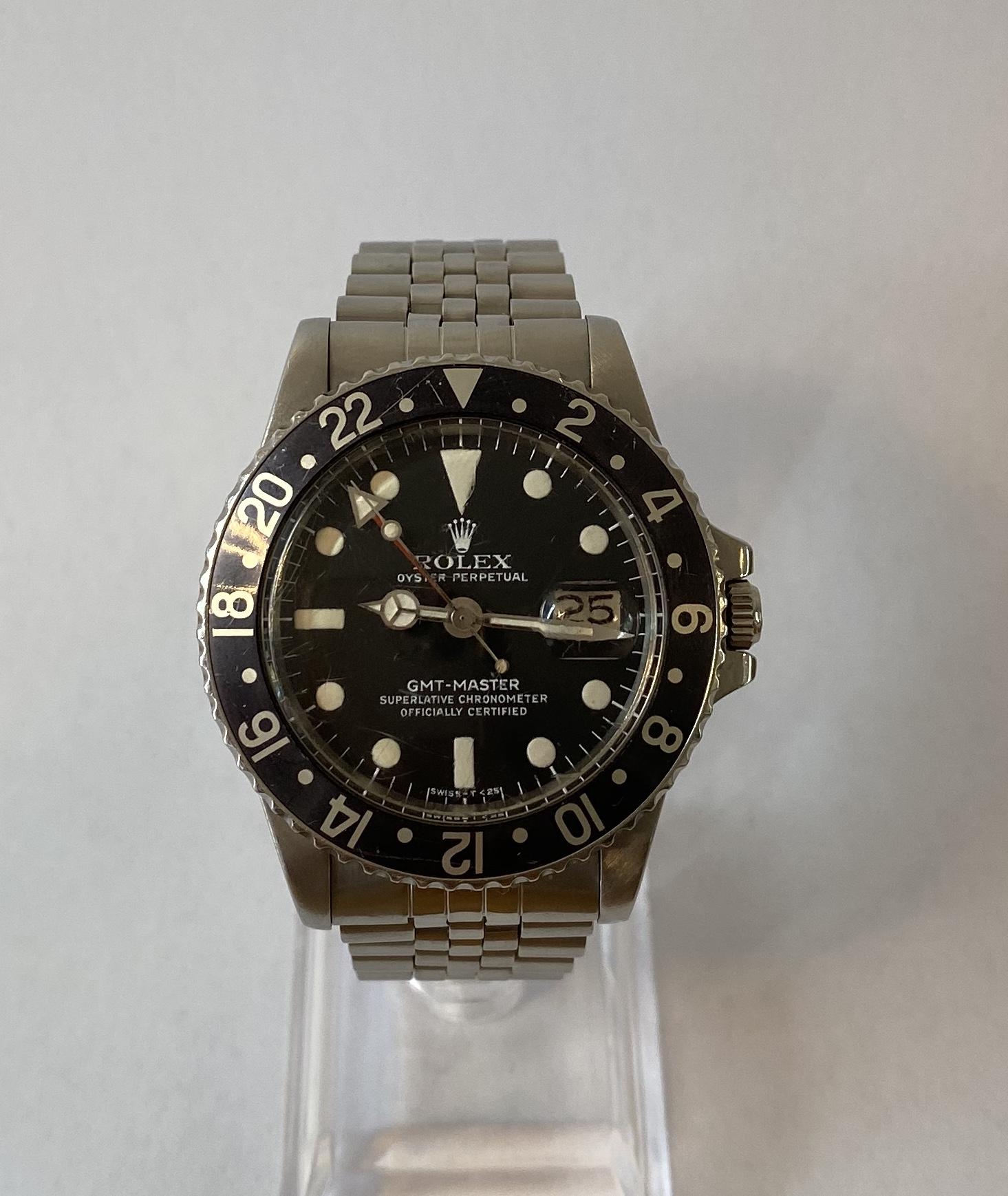 Lot 7 - Rolex GMT Master 1675 (Original & Untouched) *12 MONTH GUARANTEE*