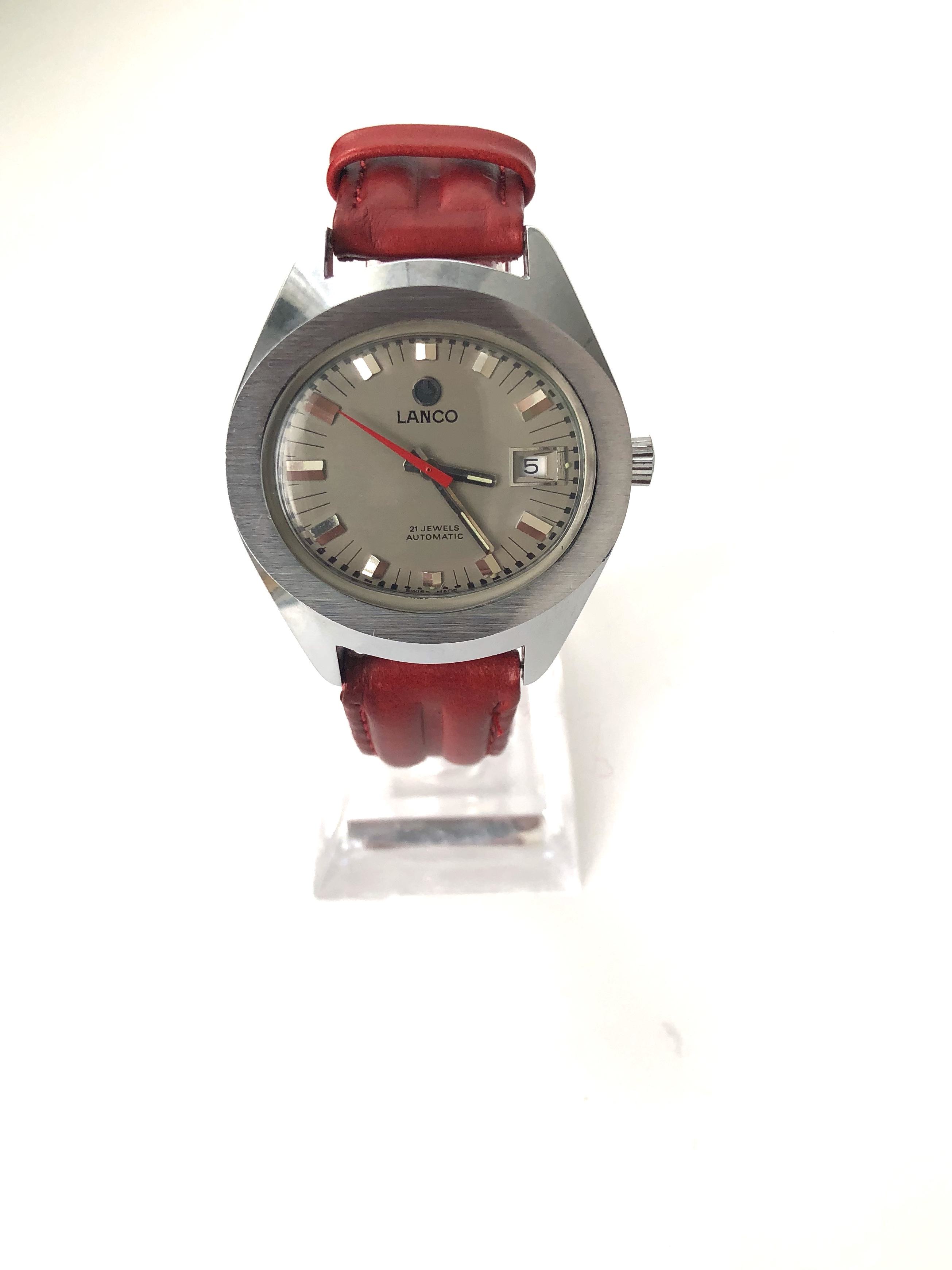 Lot 28 - Amazing & Rare Vintage Lanco Swiss Watch - Like new condition collectors dream