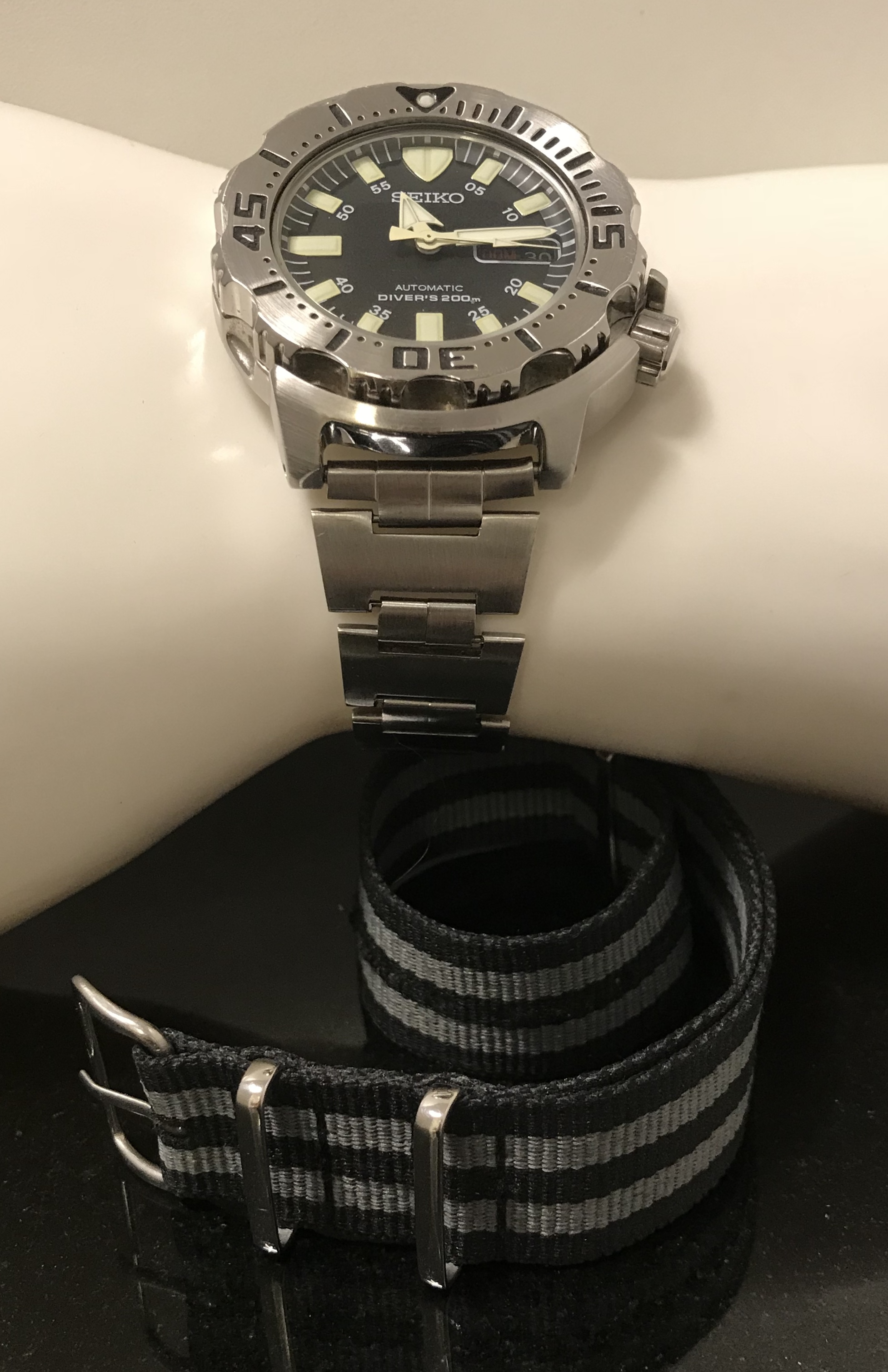 Seiko Automatic Divers 200m - Image 9 of 10