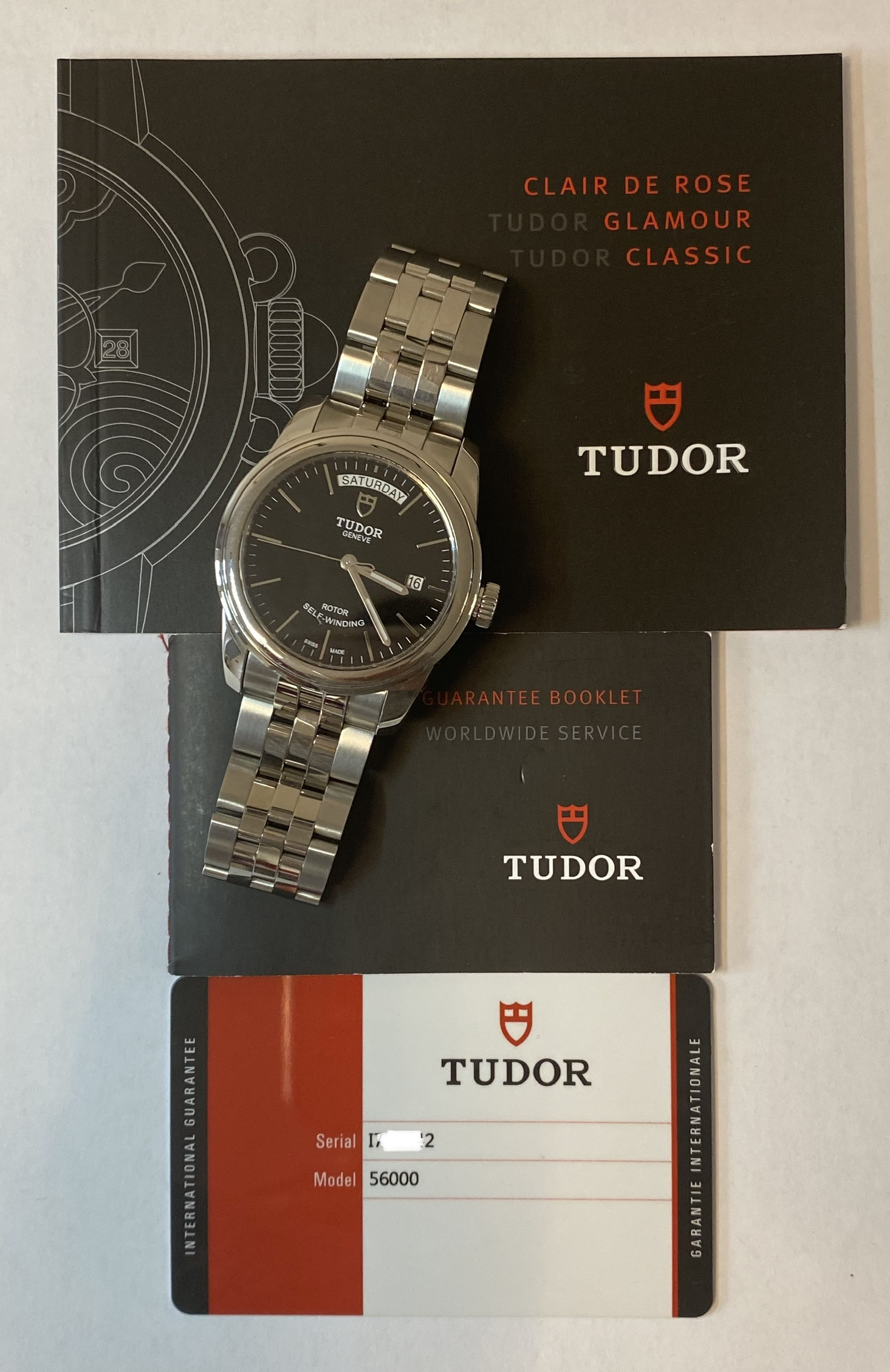 Lot 9 - Tudor Day Date 56000 Automatic (2018) *2 YEARS GUARANTEE*