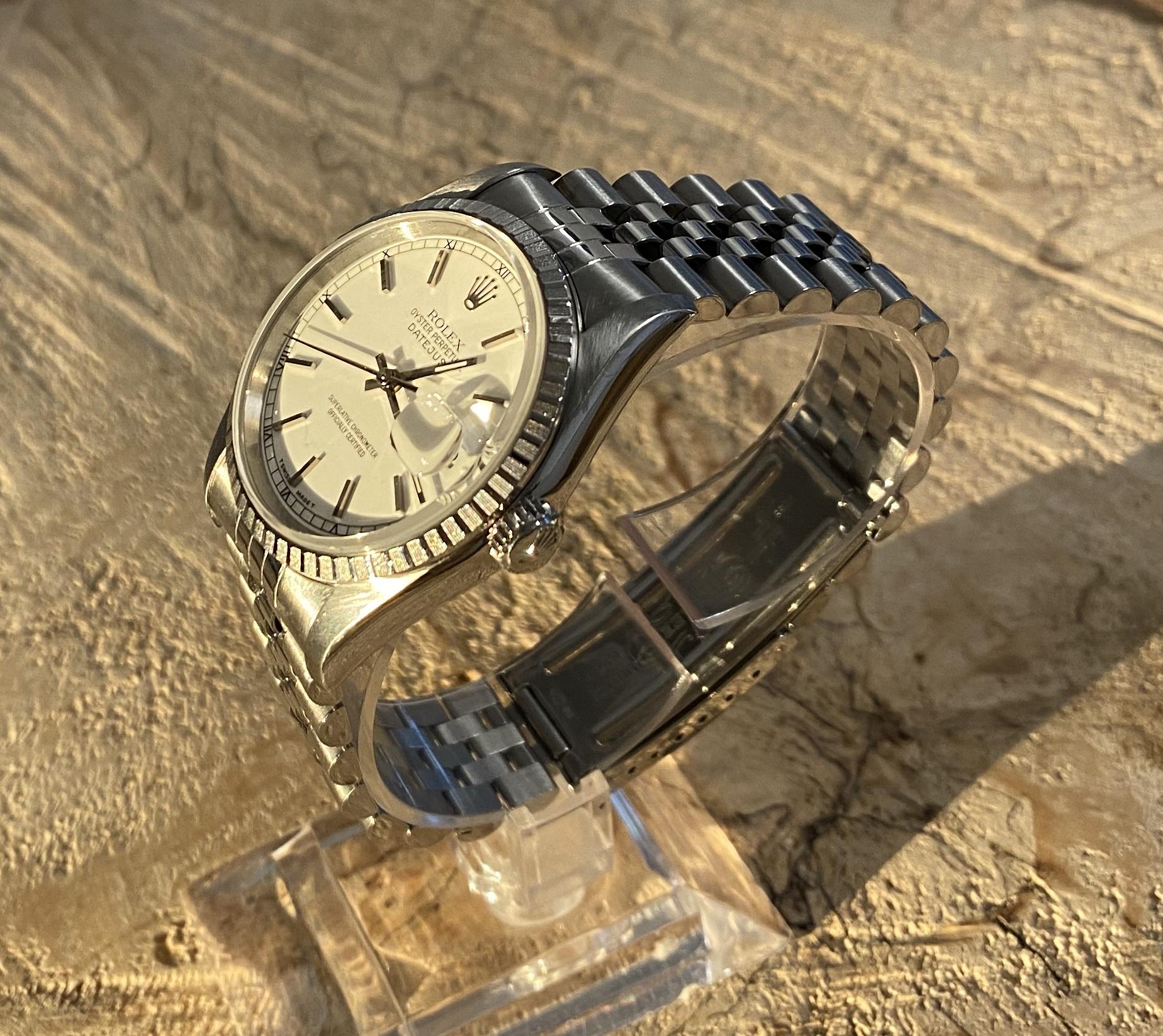 Lot 56 - Gents Rolex Datejust 16220 S/Steel 36mm * 2 YEARS GUARANTEE*