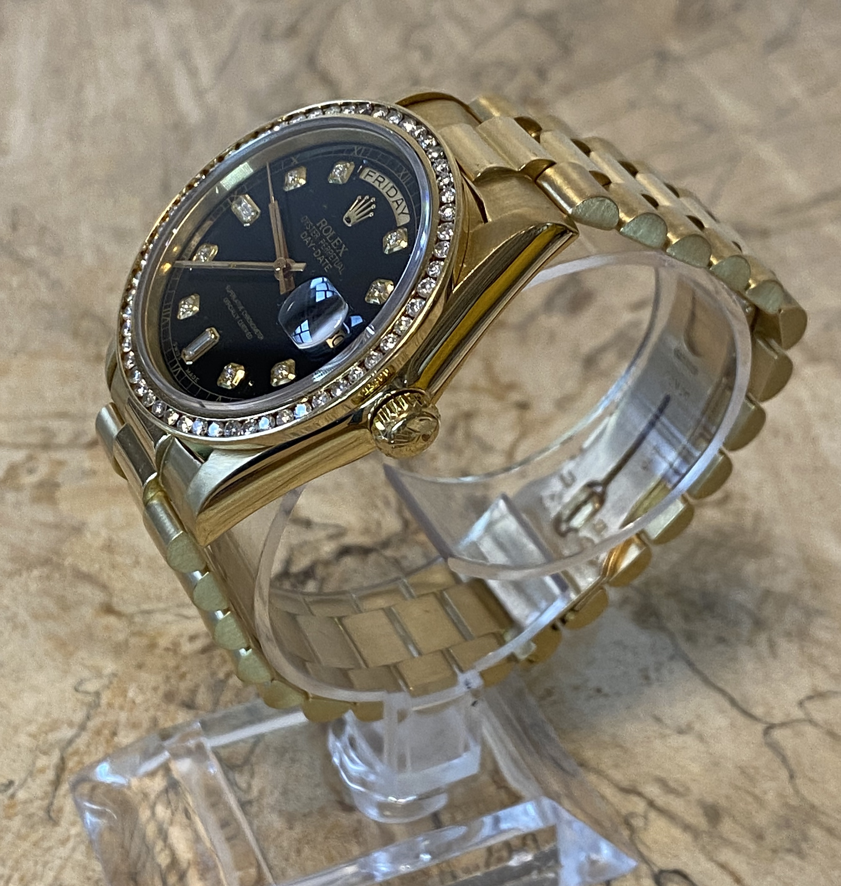Lot 58 - Gents Rolex Day Date 18038 18ct Gold *2 Years Guarantee*