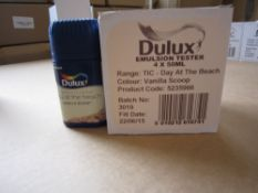 250 Packs of 4 Day at the Beach Vanilla Scoop Dulux 50ml