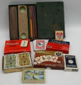 Vintage Parcel of Playing Cards & Games