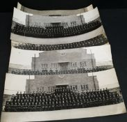 Vintage 5 x Police Photographs Ryton on Dunsmore Classes 1940's