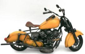 Vintage Metal Model Motor Bike