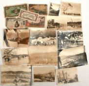 Antiques Parcel of Post WWII Japan Ephemera Includes Money & Photographs