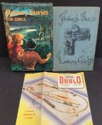 Antique Vintage Books Includes Through The Looking Glass Hornby Dublo Pamphlet