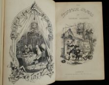 Antique Book Nice Edition of The Pickwick Papers by Charles Dickens