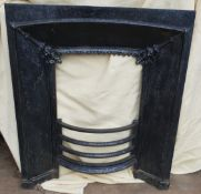 Antique Victorian Cast Iron Fire Surround