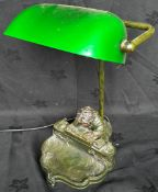Decorative Desk Lamp Modelled As A Child At A Desk
