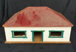 Vintage Dolls House Scratch Built